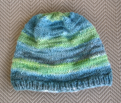 Hand dyed hat 071008