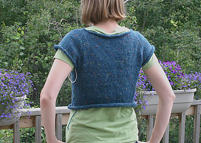 Teal sweater back 071908