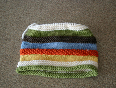 Striped hat 112408