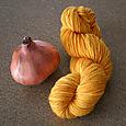 Onion skin yarn