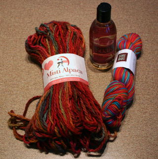 Calgary yarn shopping