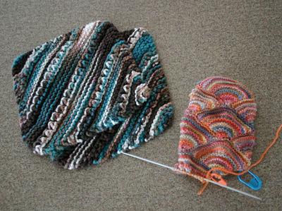 Dishcloths and mitten 020209