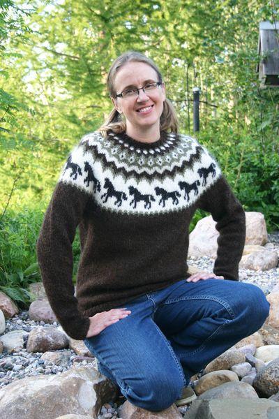 Horse Sweater 081410 B
