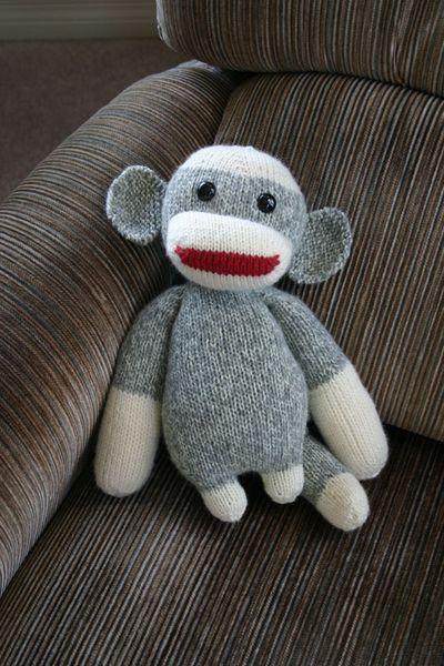Sock Monkey 120322A