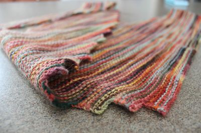 Hitchhiker scarf close up