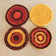 Felted Coasters 1