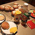 Multigrain Sourdough Hamburger Buns, March 10