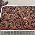 Chocolate Cinnamon Buns, March 29