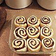 Cream Cheese Cinnamon Buns, January 26