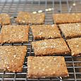 Whole grain & Seed crackers, April 2