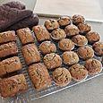 Banana Muffins and Mini-loaves, April 12