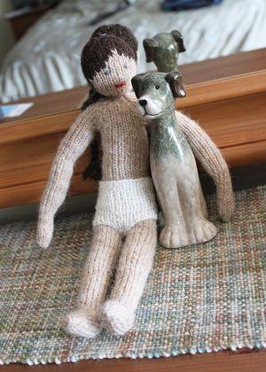 Theodora doll and puppy 022912