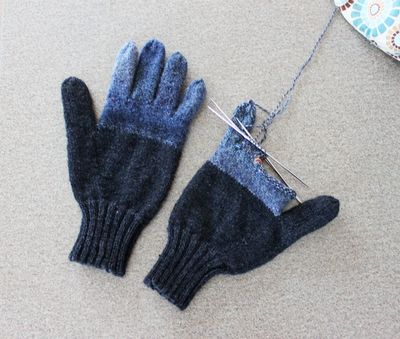 Large guess who gloves 011412