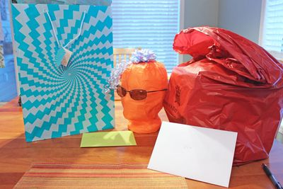 Mysterious birthday presents