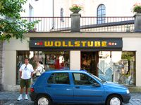 See! I even found the photo of the shop!  I have no idea who those people are in front of the shop.