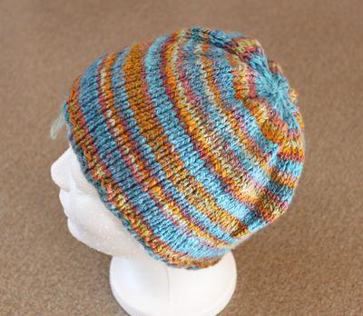 Handspun hat try #1 092413