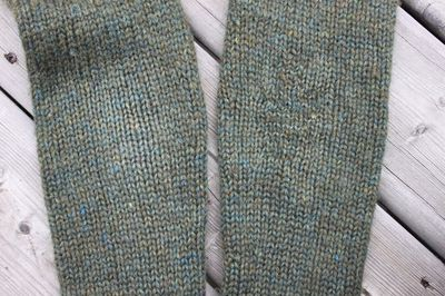 Duplicate stitch elbows 093013