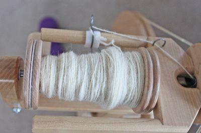 My woolen spun singles
