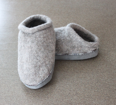 Felted Clogs