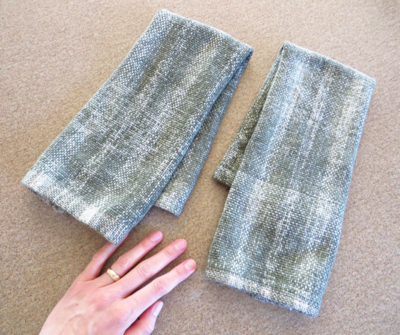 I made towels! I don't why this is so thrilling to me.