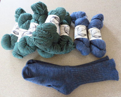 Mulespinner yarn is absolutely unique!