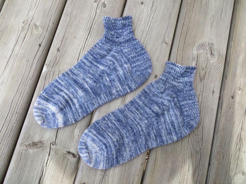 Sock cuffs finished