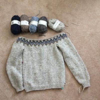 Alafoss sweater