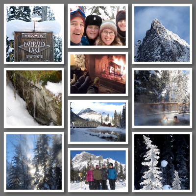 Emerald Lake Collage