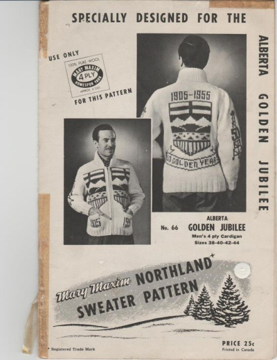 Alberta Golden Jubilee Sweater