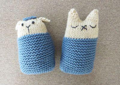 Lamb and kitty 070915