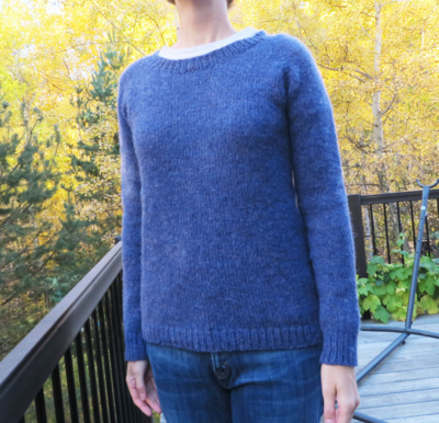Front shot, note sleeves are *just* long enough!