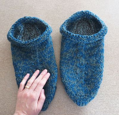Felted clogs 021516