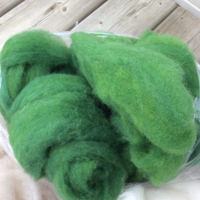 A&B green corriedale