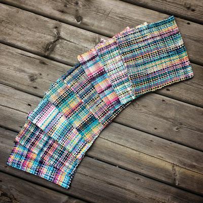 Woven dishcloths