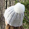 Phildar Chic Pompom Hat