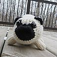 Knitted Pug