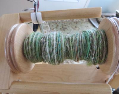 Crazy looking yarn