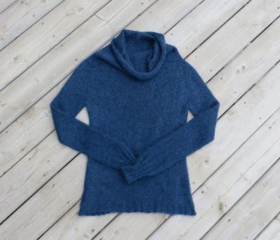 Fuzzy, fluffy mohair alpaca silk sweater!