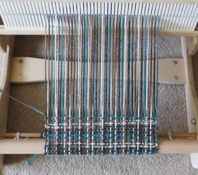Weird looking weaving!