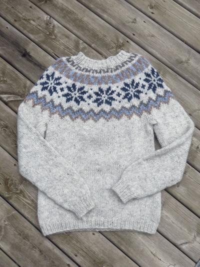 Alafoss sweater 090216