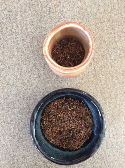 Honeybush and Buckingham Palace tea