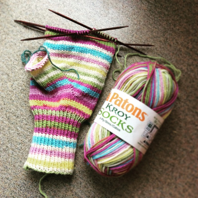 Patons kroy mittens (Custom)