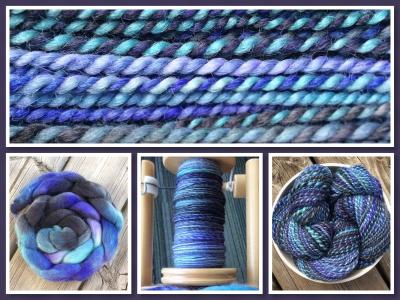 SpunDreamz Falkland Wool Handspun (Custom)