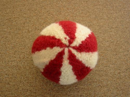 Felted Canada Day Ball