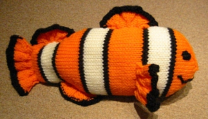 Knitted Clown Fish