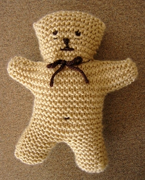 Garter Stitch Teddy