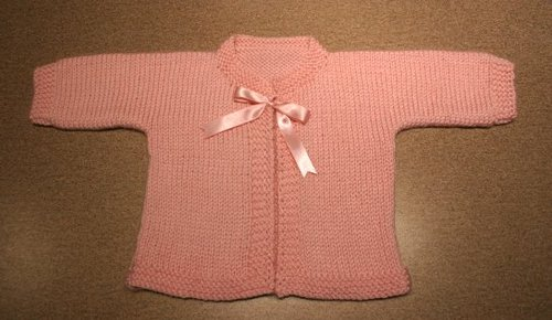 Pink Bow Sweater