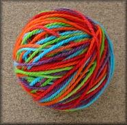 Rainbow Kool-Aid Yarn