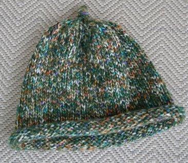 Tweed Baby Hat