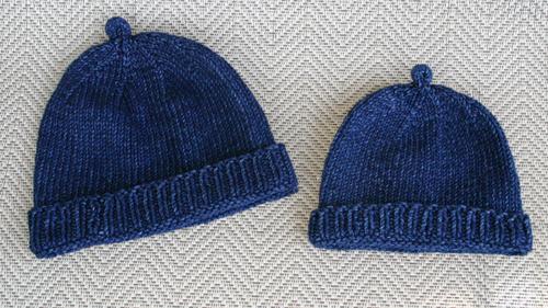 Denim Hat Duo